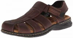leather sandals men's